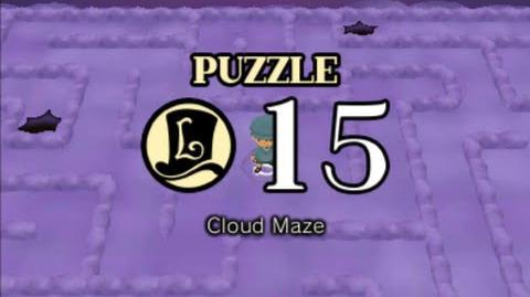 Puzzle Solution Puzzle 15 - Cloud Maze (Professor Layton vs Phoenix Wright Ace Attorney)