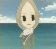 Mélina sur la plage
