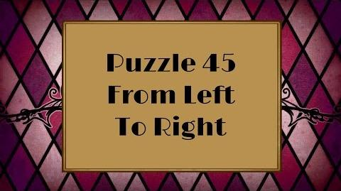 Professor Layton and the Miracle Mask - Puzzle 45 From Left To Right