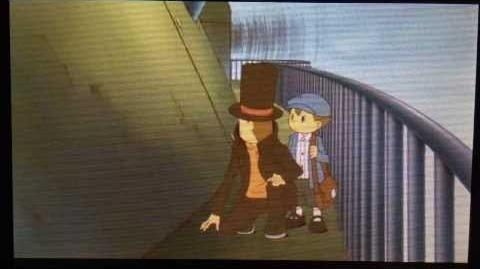 Professor Layton and the Azran Legacy Cutscene 6 (US Version)