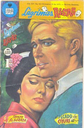 Publicación de la revista entre los años 1975 y 1977. En esta ocasión, se publican las novelas El pecado de Oyuki y Triste Alborada.