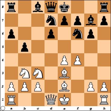 Trapl-Alster après 9…b5