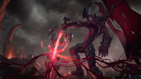 Aatrox, la Espada de los Oscuros - Pantalla de Inicio