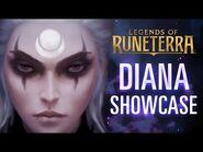Diana Champion Showcase - Gameplay - Legends of Runeterra