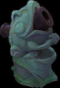 Frog Cannon TempleofLilyandLotus Render