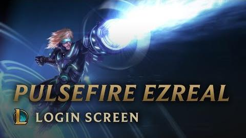 Pulsfeuer-Ezreal - Login Screen