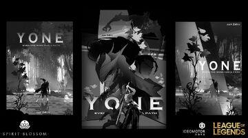 Yasuo Yone Brüder der Blutbefleckten Klinge Konzept 11