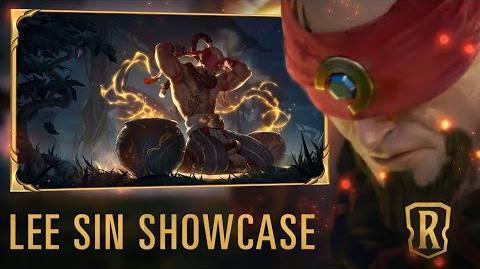 Lee Sin Champion Showcase Gameplay - Legends of Runeterra