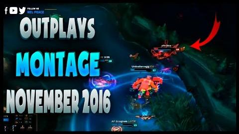 Outplay Montage - November 2016 - Epic Outplays 2016