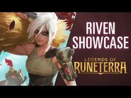 Riven Champion Showcase - Gameplay - Legends of Runeterra