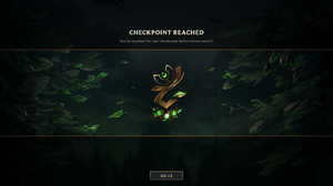 Honor Checkpoint Reached Screen