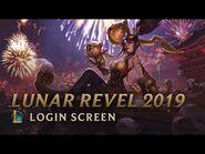 Lunar Revel 2019 - Login Screen - League of Legends