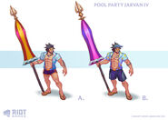 Jarvan IV PoolParty Concept 02