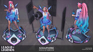 Seraphine KDAALLOUT Model 05