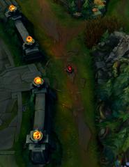 Infernal Rift blast cone location 2