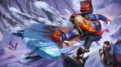 League of Legends - Śnieżny Singed