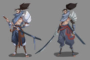 Yasuo Kin of the Stained Blade Concept 05