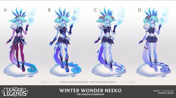 Neeko Winterwunder- Konzept 2
