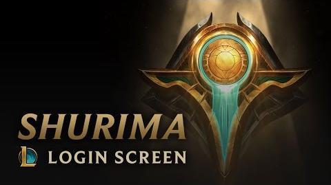 Shurima - ekran logowania