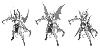 Zyra Drachenherrin Konzept 01