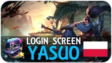 Yasuo - ekran logowania (PL)