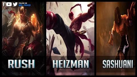 Rush vs Heizman vs Sashuani - Gods of Lee Sin 0