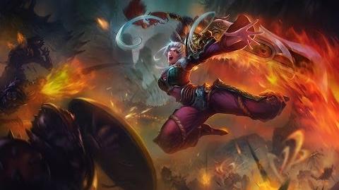 League of Legends- Dragonblade Riven