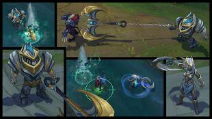 Nautilus and Sivir Warden Screenshots