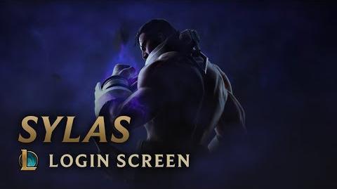 Sylas - ekran logowania