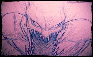 Ironstylus Cho'Gath Zeichnung