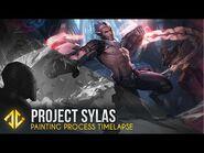 Painting Project Sylas - League of Legends Splash Art Timelapse