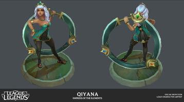 Qiyana Model 02