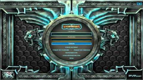 Alpha Beta Stage - Login Screen (with Music)