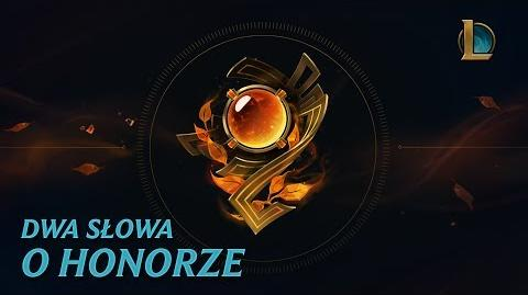 Dwa słowa o Honorze