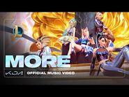 KDA - MORE (mit Madison Beer, (G)I-DLE, Lexie Liu, Jaira Burns und Seraphine (offizielles Musikvideo))
