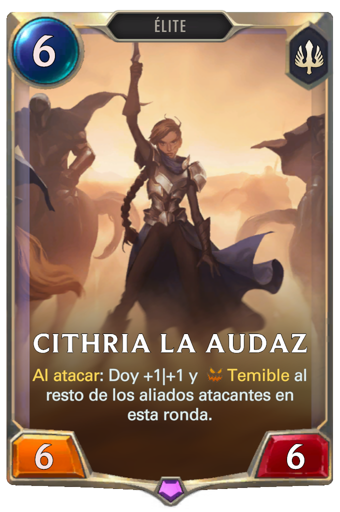 Cithria la Audaz (Legends of Runeterra)