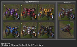 Cho'Gath Stahlkrieger- Prime Chroma Konzept 01