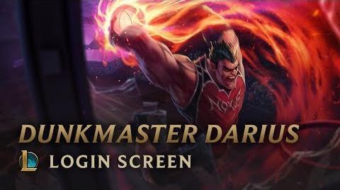 Mistrz Wsadów Darius - ekran logowania