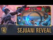 Sejuani Reveal - New Champion - Legends of Runeterra