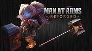 El Martillo de Poppy - League of Legends - HOMBRE DE ARMAS REFORJADO
