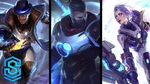 Pulsefire Shen, Riven & Twisted Fate Skin Teaser