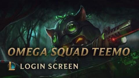 Omega Squad Teemo - Login Screen