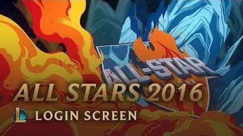 All-Star Barcelona 2016 - ekran logowania