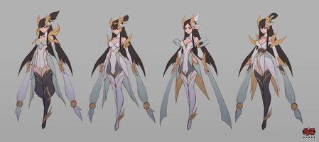 Irelia Himmlisches Schwert Konzept 02