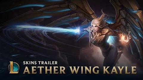League of Legends - Kayle Alas Etéreas