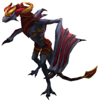 Shyvana Dragon Render.png