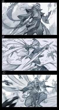 Talon Beständiges Schwert Splash Konzept 01
