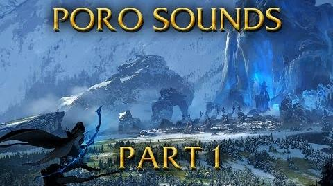 LoL Sounds - What does the Poro say? - Basic sounds