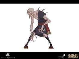 Kuro'sagol Brüder der Blutbefleckten Klinge Konzept 05