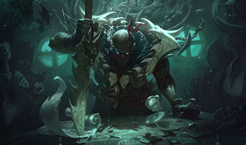 A Reanimated undead human named Pyke.
